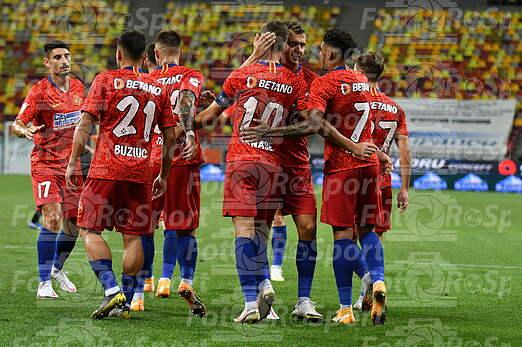 FCSB-FC Shriak 3-0 Tur 1 Europa League Preliminarii